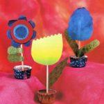 Бумажные цветы в подарок маме, которые может сделать даже маленький ребенок