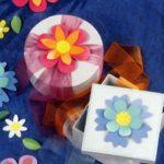 Бумажные цветы — элементы оформления поделок к Пасхе (+ВЫКРОЙКА)
