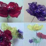 Самодельные цветы из пластиковых бутылок, которые легко сделать своими руками
