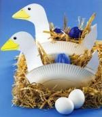 Корзинки для пасхальных яиц своими руками