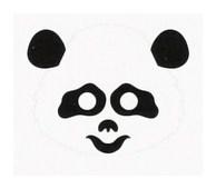 Детская карнавальная маска Панда из бумаги