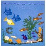 Сделайте своими руками панно из фетра «Подводный мир» (с выкройкой)