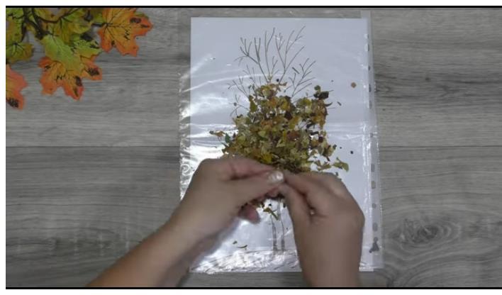 4 идеи осенних поделок из листьев