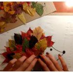 Чем приклеить листья к бумаге для поделки