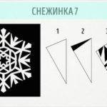 Снежинки  — простые Новогодние украшения дома