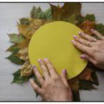 Осенние часы поделка в садик